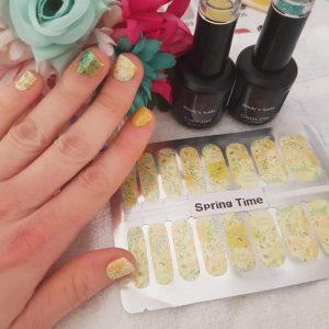 Bindy's Spring time Nail Polish Wrap