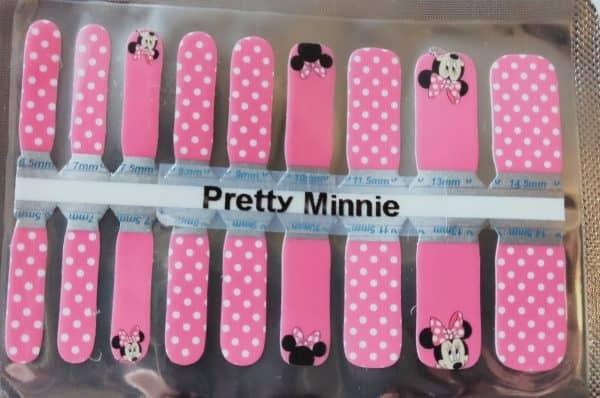 Bindy's Pretty Minnie Nail Polish Wraps