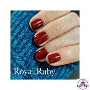 Bindy's Royal Ruby Cateye Gel