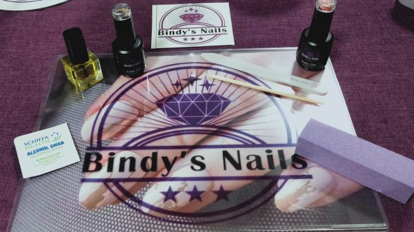 Bindy's Nails Work Mat/ Place Mat