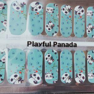 Bindy's Nails Playful Panda