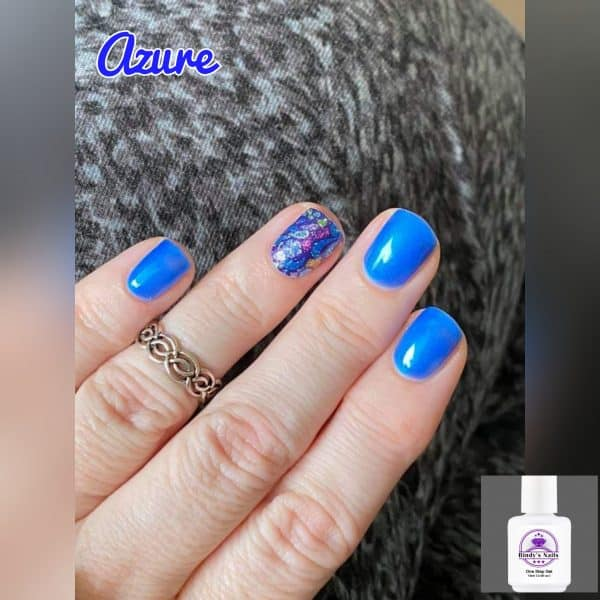 Bindy's Nails Azure with Princess Garden as a accent scent