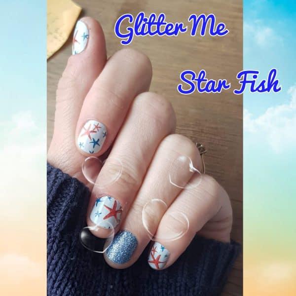 Bindy's Glitter Me Star Fish