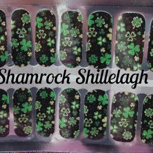 Bindy's Nails Shamrock Shillelagh Nail Polish Wrap