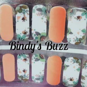 Bindy's Buzz Nail Polish Wrap
