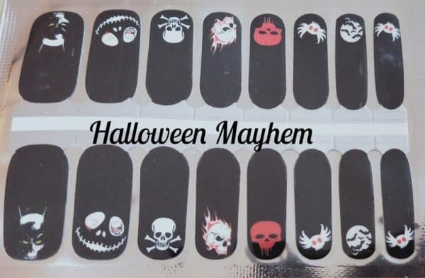 Bindy's Halloween Mayhem Nail Polish Wrap