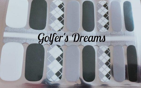 Bindy's Golfer Dreams Nail Polish Wrap