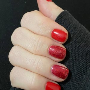 Bindy's Red Goes Faster and Dragon Jewels UV Gels