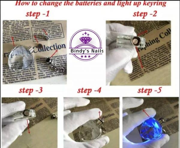 Bindy's How to change the batteries