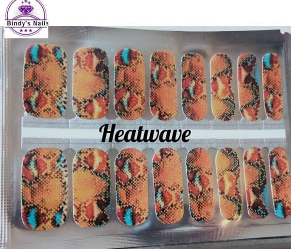 Bindy's Heatwave Nail Polish Wrap