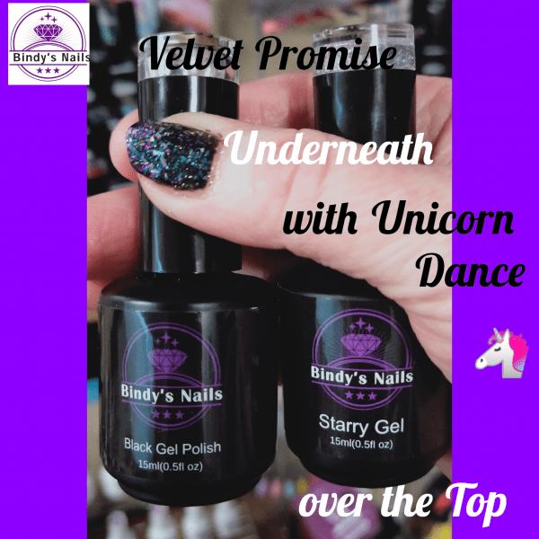 Bindys Velvet Promise & Unicorn Dance Three Step Gel