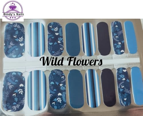 Bindy's Wild Flowers Nail Polish Wrap
