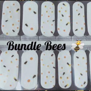 Bindy's Bundle Bees Nail Polish Wrap