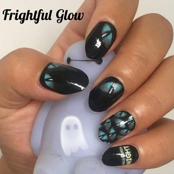 Bindy's Frightful Glow Nail Polish Wrap