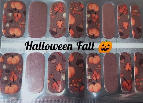Bindy's Nails Halloween Fall Nail Polish Wrap