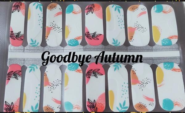 Bindy's Goodbye Autumn Nail Polish Wrap