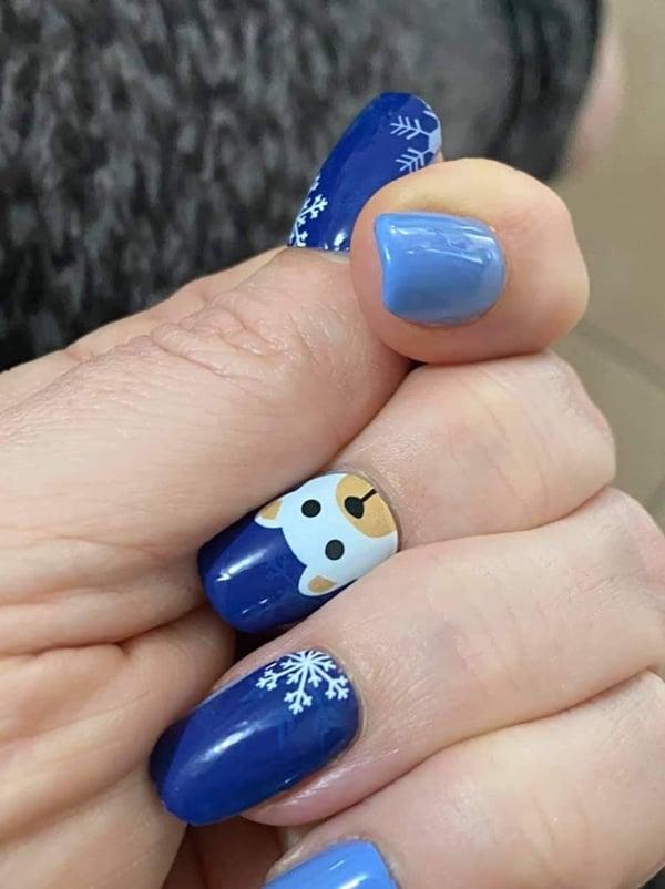 Bindy's Snowflake Buddies Nail Polish Wrap
