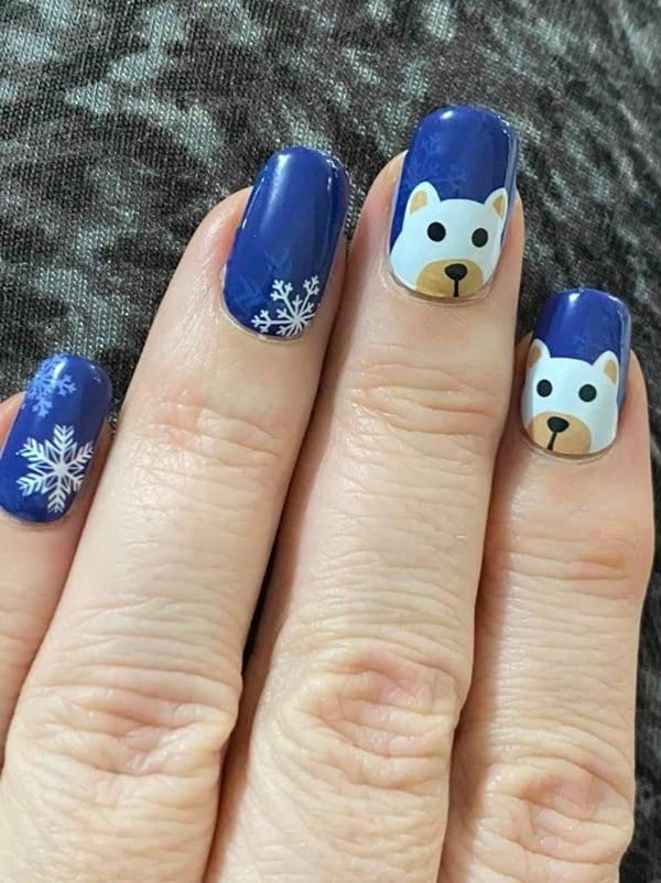 Bindy's Snowflake Buddies Nail Polish Wraps