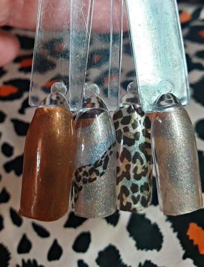Bindy's Leaping Leopards Nail Polish Wrap