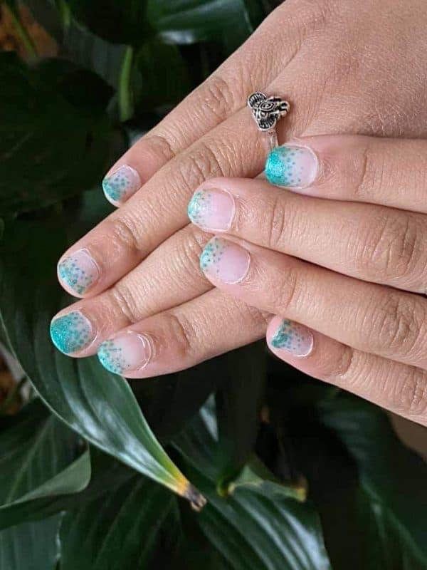 Bindy's Jade Frosting Nail Polish Wrap
