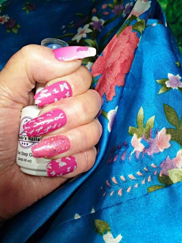 Bindy's Butterflies Oasis Nail Polish Wrap
