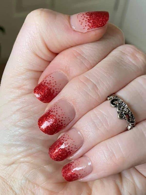 Bindy's Festive Sprinkle Nail Polish Wrap