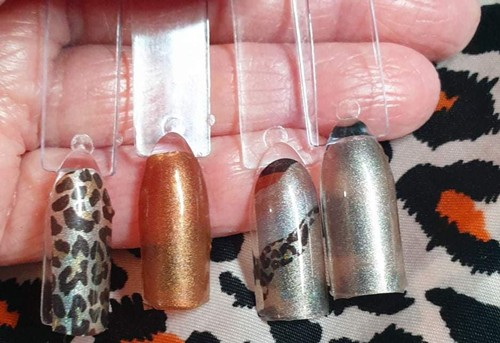 Bindy's Leaping Leopards Nail Polish Wraps