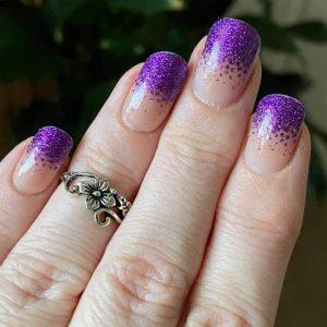 Bindy's Enchanted Fuchsia Nail Polish Wrap