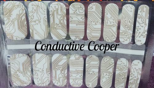 Bindy's Conductive Cooper Nail Polish Wrap
