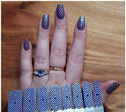 Bindy's Nails Violetta Nail Polish Wrap