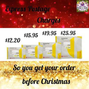 Express Postage charges in Australia