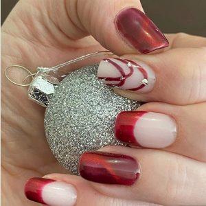 Bindy's Ruby Red Cateye Three Step UV Gel