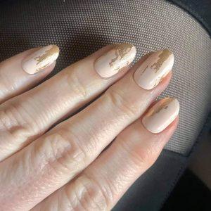 Bindy's Touch of Gold Splash Nail Polish Wrap