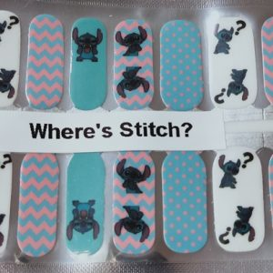 Bindy's Where's Stitch Nail Polish Wrap