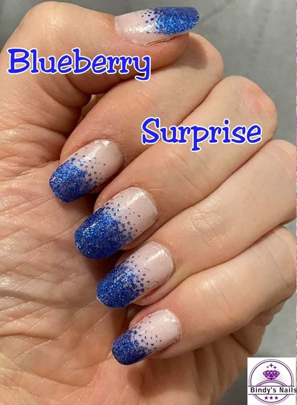 Bindy's Blueberry Surprise Nail Polish Wrap