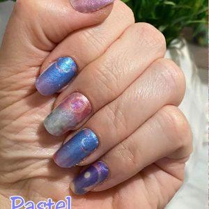 Bindy's Pastel Moons Nail Polish Wrap