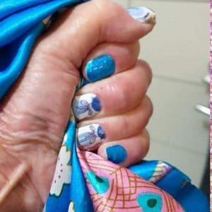 Bindy's Azurine Nail Polish Wrap