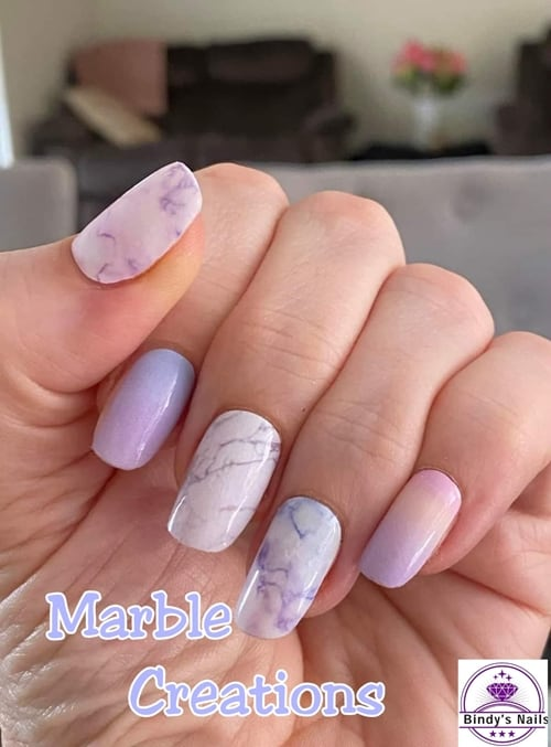 Bindy's Marble Creations Nail Polish Wrap