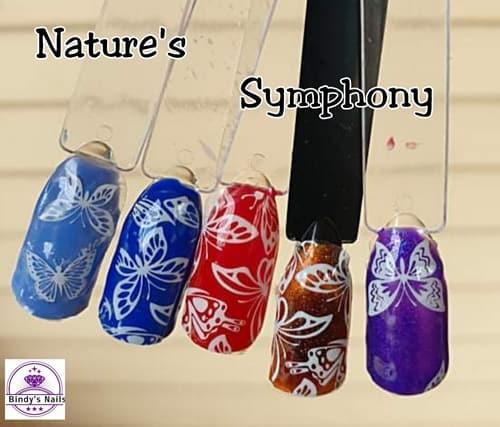 Bindy's Nature's Symphony Nail Polish Wrap