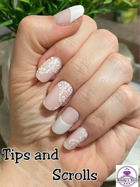 Bindy's Tips & Scrolls Nail Polish Wrap