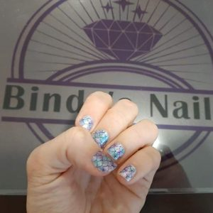 Bindy's Mermaid Fins Nail Polish Wrap