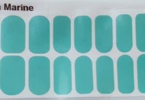 Bindy's Aqua Marine Nail Polish Wrap