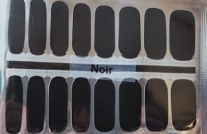 Bindy's Nails Noir Nail Polish Wrap