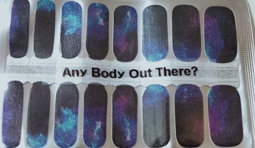 Bindy's Any Body Out There? Nail Polish Wrap
