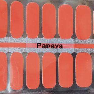 Bindy's Papaya Nail Polish Wrap