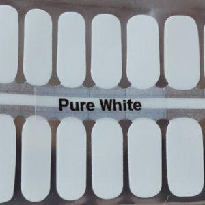 Bindy's Pure White Nail Polish Wrap