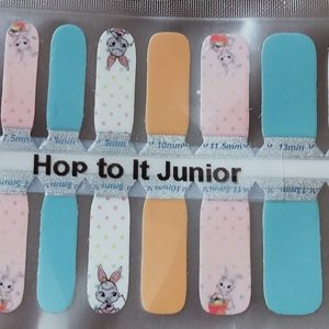 Bindy's Hop to It Junior Nail Polish Wrap