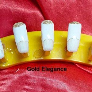 Bindy's Gold Elegance Nail Polish Wrap