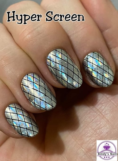 Bindy's Nails Hyper Screen Nail Polish Wrap