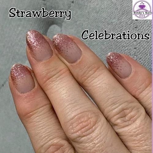Bindy's Strawberry Celebrations Nail Polish Wrap